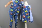 Selbstgenähter Schlafanzug und Langarmshirt von PawPatrol. JanaKnöpfchen - Nähen für Jungs