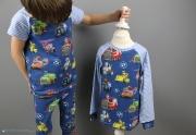 Selbstgenähter Schlafanzug mit Paw Patrol. JanaKnöpfchen - Nähen für Jungs