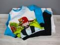Langer Schlafanzug für Jungs genäht. Mit Petterson und Findus Jersey eine Eigenproduktion von Stoff und Liebe. JanaKnöpfchen - Nähen für Jungs