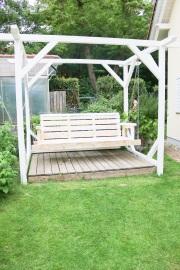Gartenschaukel aus Holz bauen.  JanaKnöpfchen - Nähen für Jungs
