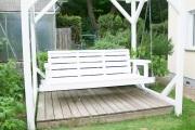 Gartenschaukel nach Vorbild der südstaaten Terrassenschaukeln bauen.  JanaKnöpfchen - Nähen für Jungs