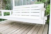 Große gemütlich Gartenschaukel aus Holz bauen.  JanaKnöpfchen - Nähen für Jungs