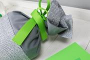 Schleife der selbstgenähten Schultüte. JanaKnöpfchen - Nähen für Jungs