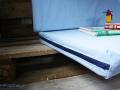 Sitzbezug mit Reißverschluss vom Palettensofa im Baumhaus.  JanaKnöpfchen - Nähen für Jungs