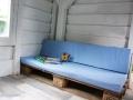 Sitzbezüge für das selbstgebaute Palettensofa vom Baumhaus.  JanaKnöpfchen - Nähen für Jungs