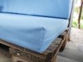 Genähte Sitzbezüge für das Palettensofa im Baumhaus.  JanaKnöpfchen - Nähen für Jungs