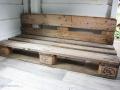 Selbstgebautes Sofa aus Paletten für das Baumhaus. JanaKnöpfchen - Nähen für Jungs