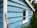 Selbstgebautes Baumhaus im Schwedenstil.  JanaKnöpfchen - Nähen für Jungs