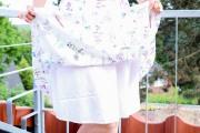 Unterrock des selbstgenähten Sommerkleides. JanaKnöpfchen - Nähen für Jungs