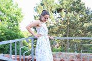 Sommerkleid mit Blümchen nähen. JanaKnöpfchen - Nähen für Jungs