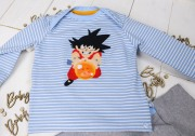 Babyshirt als Geschenk zur Geburt. JanaKnöpfchen - Nähen für Jungs