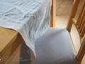 tischläufer und stuhlbezug passend genäht. janaknöpfchen, nähblog, nähen für jungs