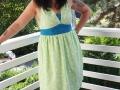 Tunika-Kleid nähen für den Sommer.  JanaKnöpfchen - Nähen für Jungs