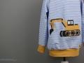 Tutorial Halsausschnitt versäubern - Shirt mit Baggerapplikation. JanaKnöpfchen - Nähen für Jungs