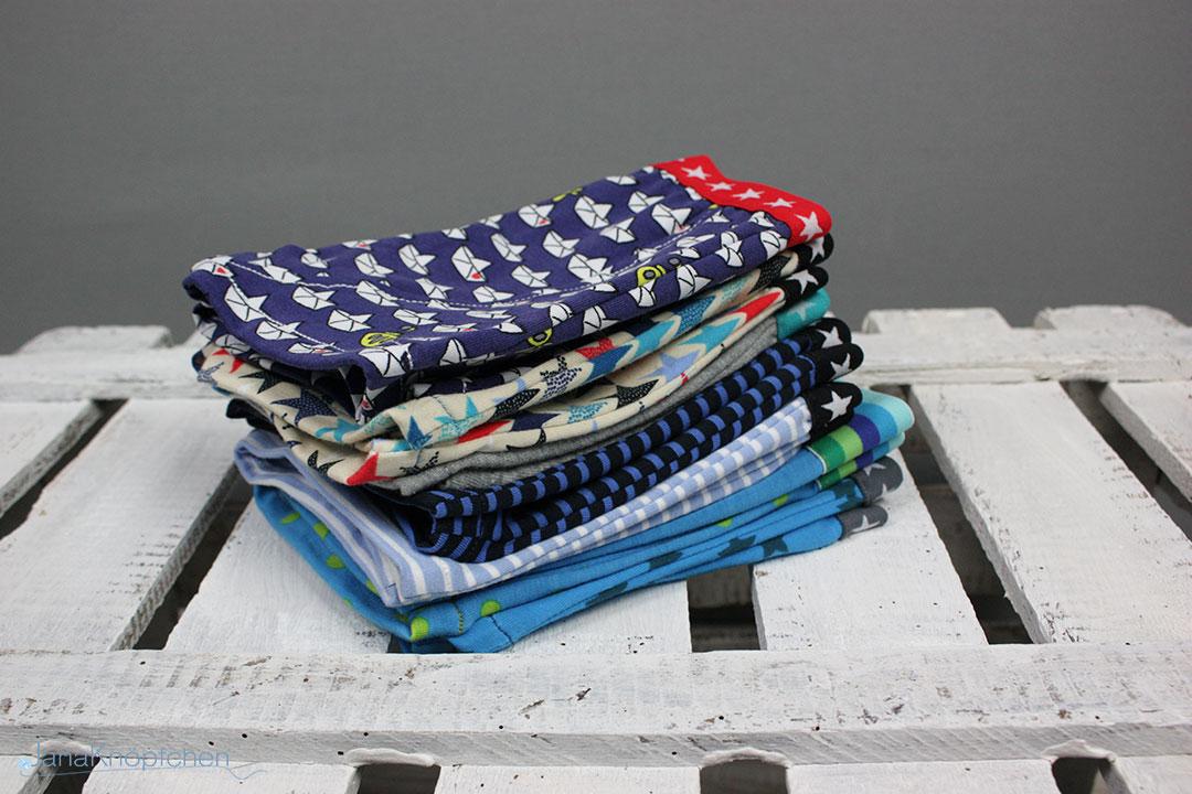 Selbstgenähte Unterhosen aus Jersey für Jungs. JanaKnöpfchen - Nähen für Jungs