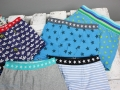 Selbstgenähte Unterhosen für kleine Jungs. JanaKnöpfchen - Nähen für Jungs