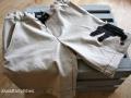 Kurze Hose aus alter Jeans mit einer Krokodilapplikation. Upcycling JanaKnöpfchen