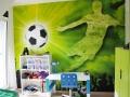 Fußball Kinderzimmer für Jungs. JanaKnöpfchen - Nähen für Jungs