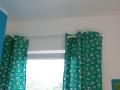 Vorhänge nähen mit Fussbällen fürs Jungs Kinderzimmer. .JanaKnöpfchen - Nähen für Jungs