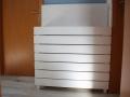 DIY Wäschekorb bauen aus Holz.  JanaKnöpfchen - Nähen für Jungs