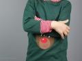 Weihnachtsshirt mit Rudolf Rentier.  JanaKnöpfchen - Nähen für Jungs