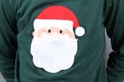 Weihnachtsmannapplikation für Shirt.  JanaKnöpfchen - Nähen für Jungs