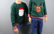 Weihnachtsshirt für Jungs selbstgenäht.  JanaKnöpfchen - Nähen für Jungs