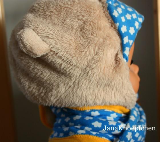 Teddymütze nähen der Schnitt ist aus der Ottobre 4/2014. JanaKnöpfchen - Nähen für Jungs
