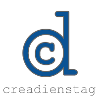 Creadienstag Logo - Linkparty für Nähblogs