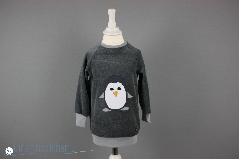 Applikation auf Shirt nähen. Tutorial JanaKnöpfchen - Nähen für Jungs. Nähblog