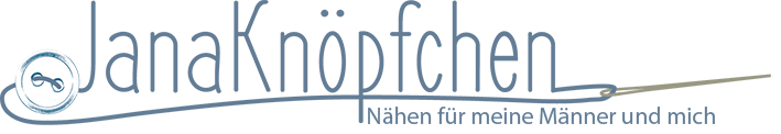 JanaKnöpfchen - Nähen für Jungs. Nähblog Logo