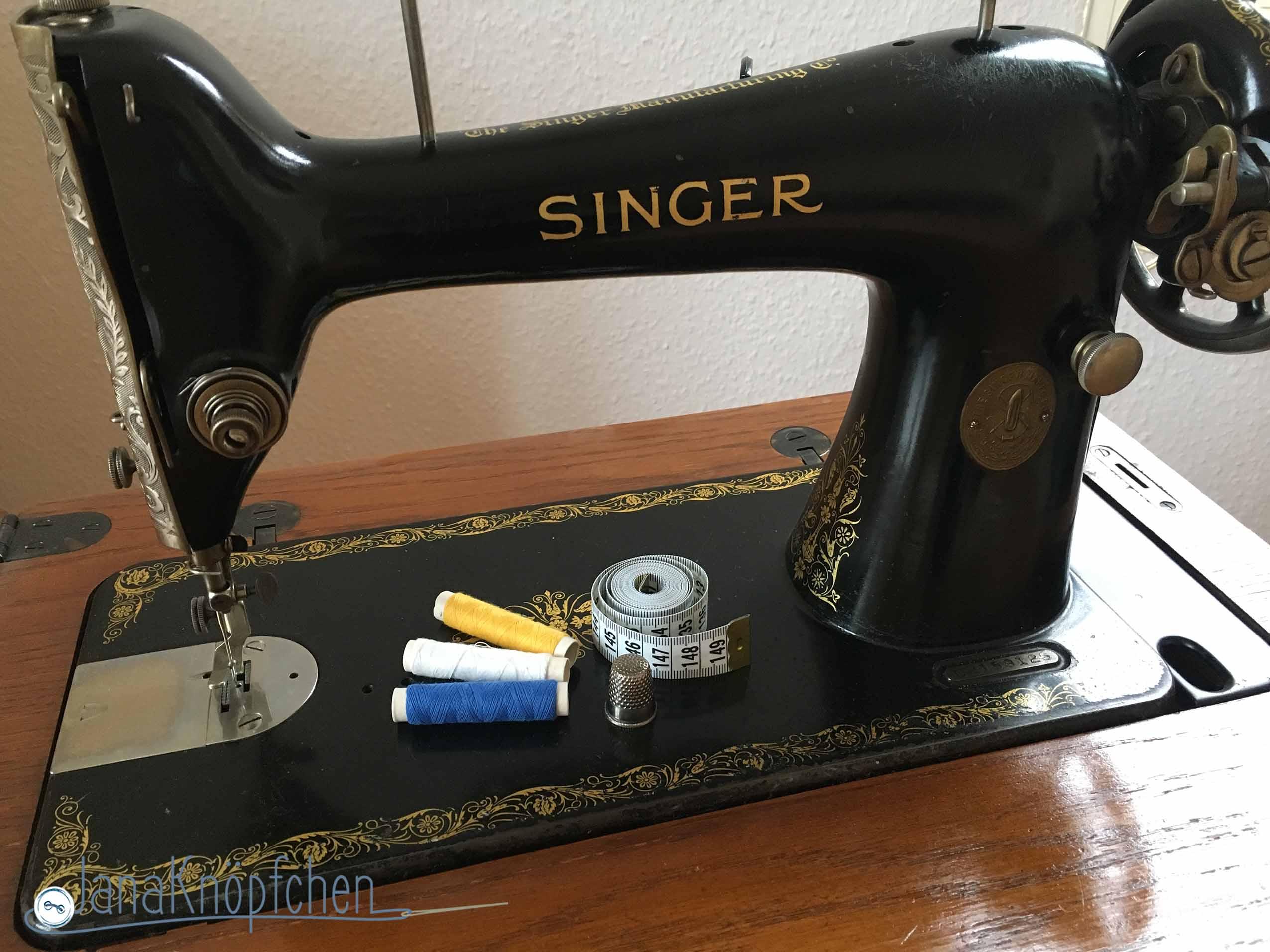 Meine Nähmaschinen. Auf einer alten Singer Nähmaschine lernte ich nähen. JanaKnöpfchen. Nähen für Jungs - Nähbloge