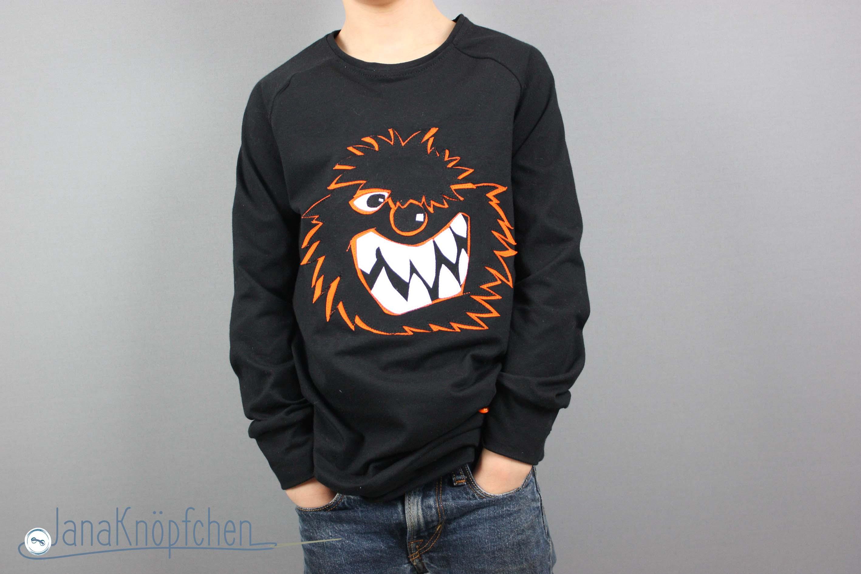 Cooles Wilde Kerle Shirt selbstgenäht mit Wilde Kerle Applikation für Jungs. JanaKnöpfchen - Nähen für Jungs. Nähblog