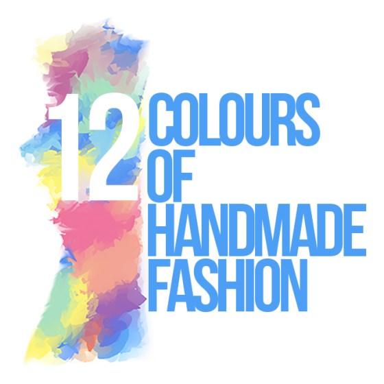 12 Colours of Handmade Fashion. Ich mach mit - JanaKnöpfchen