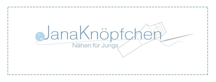 JanaKnöpfchen - Nähen für Jungs Logo für den Blog