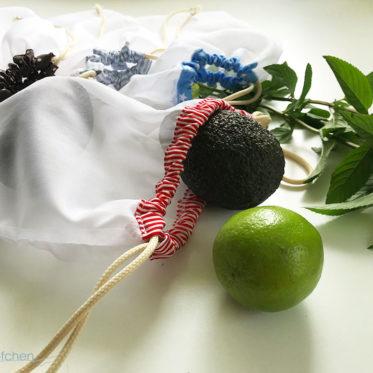 Blogbeitrag Tutorial Obst- und Gemüsebeutel nähen zum Einkaufen. Nachhaltiges Nähen. JanaKnöpfchen - Nähen für Jungs