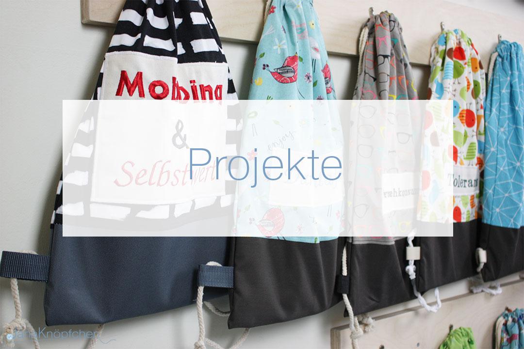 Projekte für Kinder. Nähprojekte und Kooperationen mit JanaKnöpfchen - Nähen für Jungs