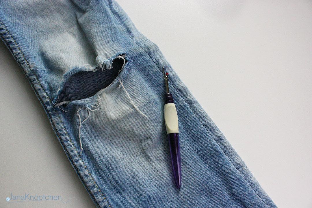 Tutorial wie flicke ich eine Jeans? Als erstes die Seitennaht öffnen. JanaKnöpfchen - Nähen für Jungs