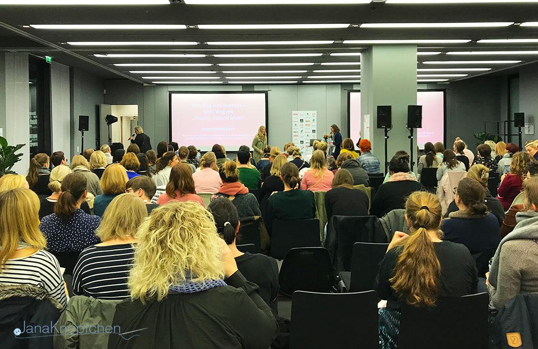 Vortrag Hannah Frey Projekt: Gesund leben. Meine erste Blogst. JanaKnöpfchen - Nähen für Jungs