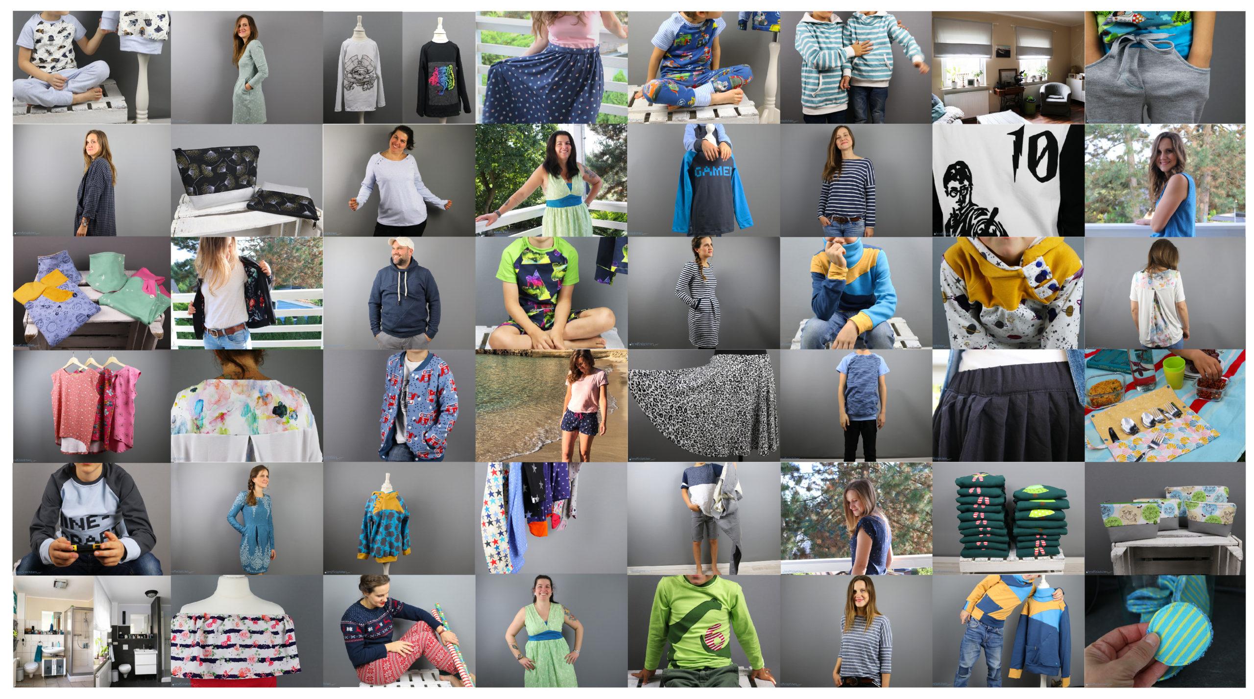 Jahresrückblick 2019 - Nähwerke eines Jahres auf dem Nähblog JanaKnöpfchen - Nähen für Jungs