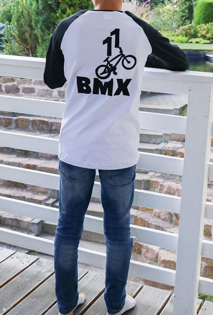 BMX-Shirt für Jungs nähen. JanaKnöpfchen