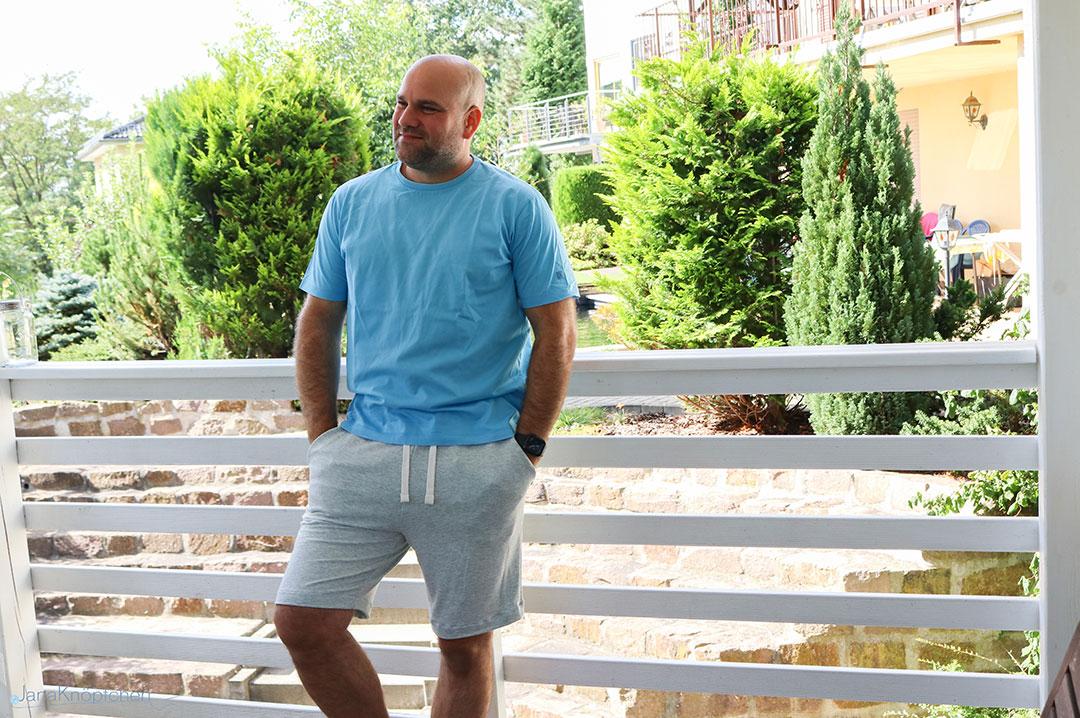 Blogpost Jogging-Hose für den Mann nähen. JanaKnöpfchen - Nähen für Jungs