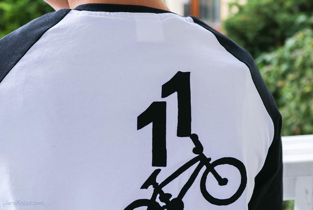 11 Geburtstagsshirt nähen für Jungs. JanaKnöpfchen - Nähen für Jungs