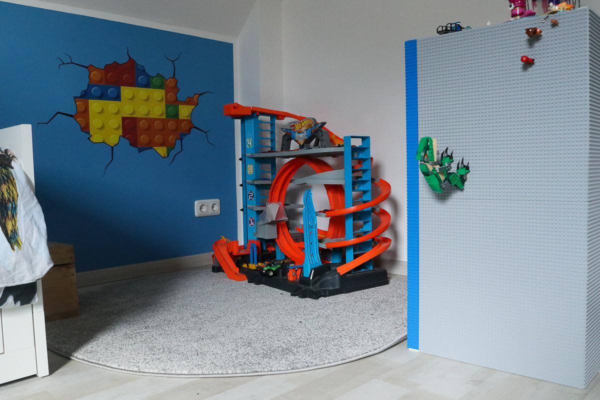 Teppich in der Lego-Spielecke. JanaKnöpfchen - Nähen für Jungs