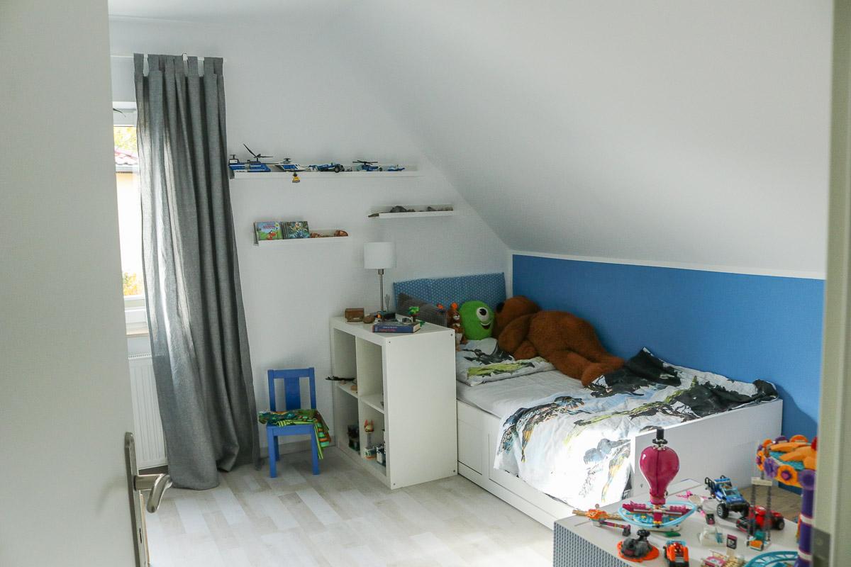 Kinderzimmerrenovierung. Lego-Kinderzimmer für Jungs selbstgemacht. JanaKnöpfchen - Nähen für Jungs
