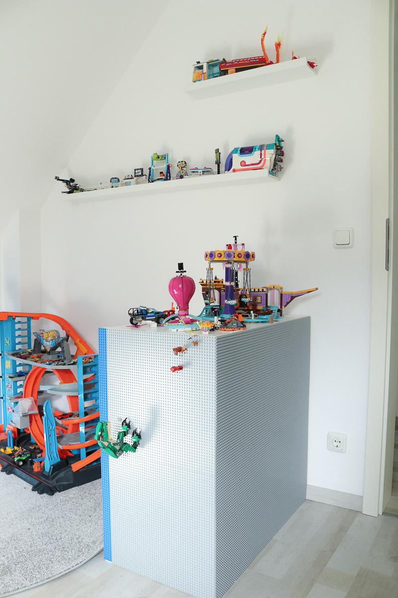 Ikea-Hack Regal wird zu Legoregal. JanaKnöpfchen - Nähen für Jungs