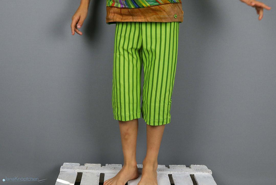 Findusschlafanzughose genäht. JanaKnöpfchen - Nähen für Jungs