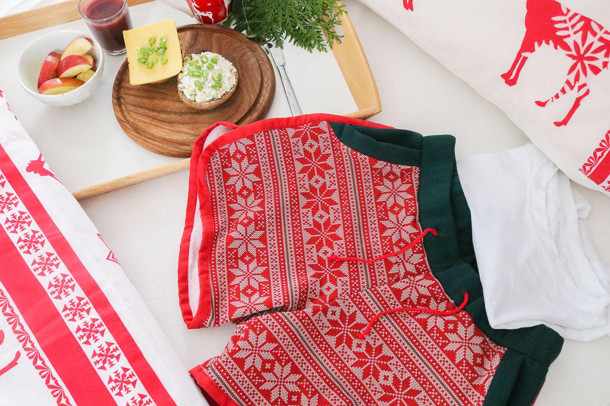 Weihnachtsschlafanzug für Frauen nähen. JanaKnöpfchen - Nähen für Jungs
