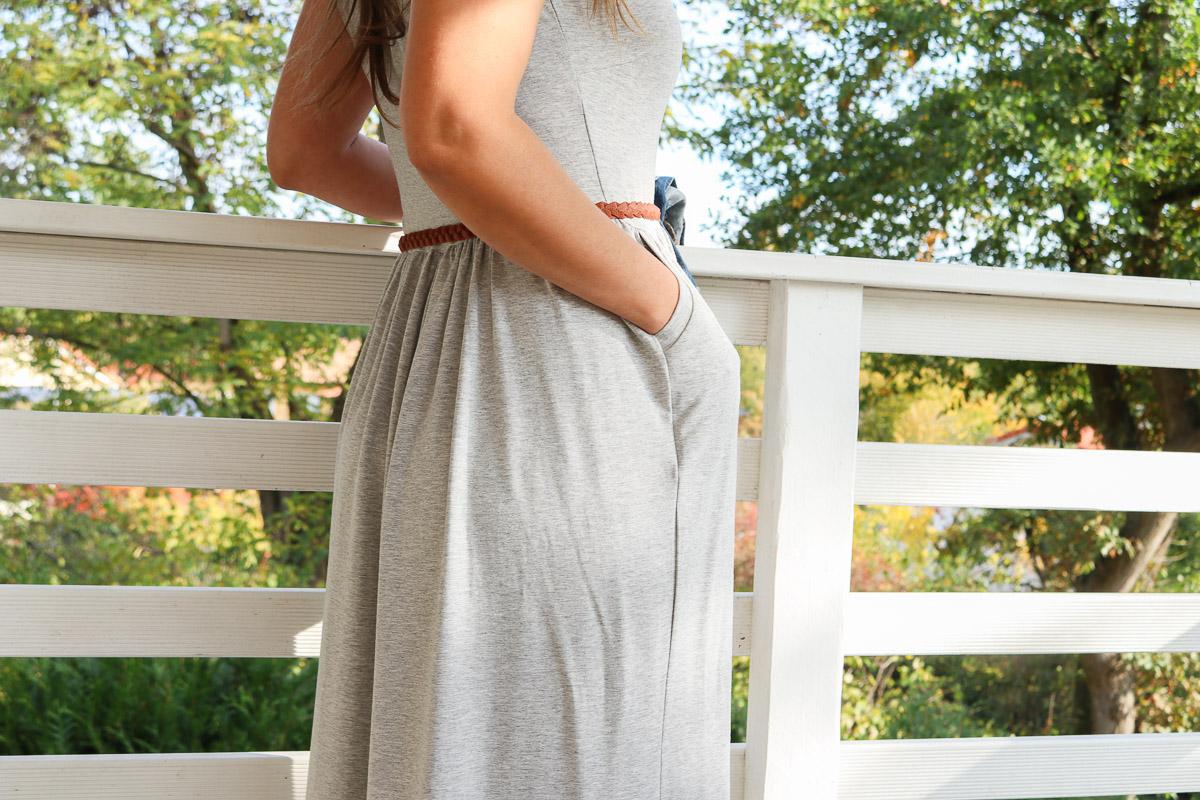 Tasche am selbstgenähten Kleid. JanaKnöpfchen - Nähen für Jungs