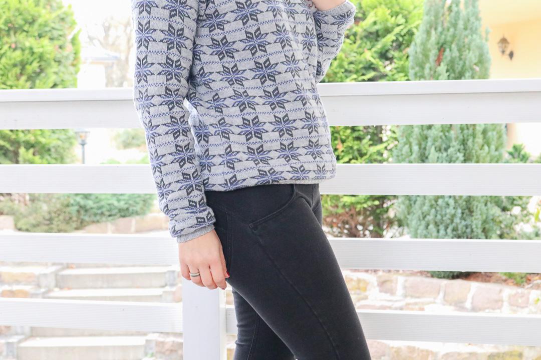 Sweater aus Strick mit Norwegermuster nähen. JanaKnöpfchen - Nähen für Jungs